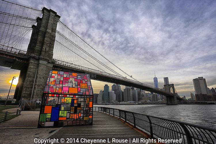 Art on the East River - New York City - Brooklyn