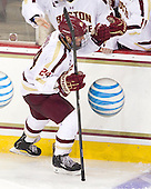 Bill Arnold (BC - 24) - The Boston College Eagles defeated the visiting Boston University Terriers 5-2 on Saturday, December 1, 2012, at Kelley Rink in Conte Forum in Chestnut Hill, Massachusetts.