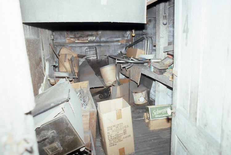 1986 February ..Rehabilitation.Attucks Theatre.Church Street...UNDER  STAGE.INTERIOR...NEG#.NRHA#..