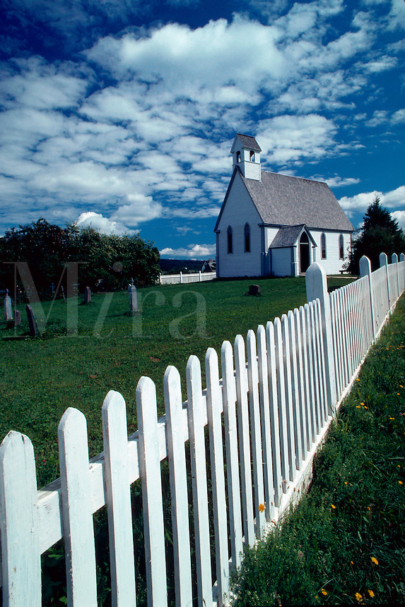 Kings Landing Historical Settlement, St. Mark's Chapel, New Brunswick, Canada