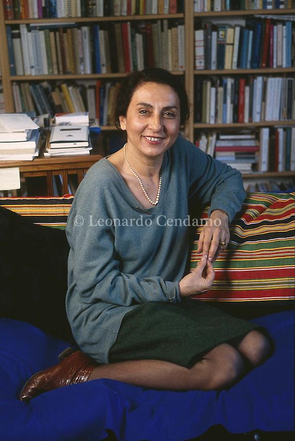 1995: NADIA FUSINI © Leonardo Cendamo