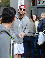 James Arthur with his fans in Brussels - Exclusive - Belgium