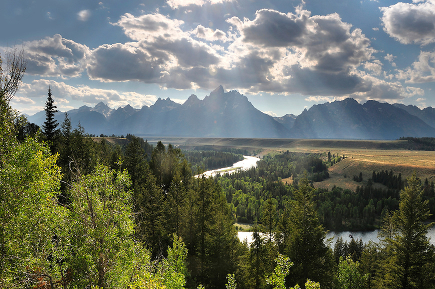 Grand Teton National Park, Teton Mountain Range, Wyoming, USA.
