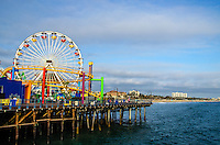 Santa Monica Pier on Friday, May 23, 2014.