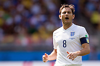 Frank Lampard of England shouting