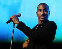 Trey Songz opens for Jay-Z at the IZOD Center 3 6 10