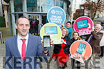 Killarney Credit Union are now providing Online Banking Service which you can use on your mobile and tablet Mark Murphy CEO launched the new service on Wednesday with l-r: Helen Courtney Power, Shane Foley, Chloe O'Donoghue and Pat Delaney