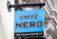 Caffe Nero Coffee Shop Sign - Aug 2013.