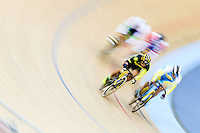Picture by Charlie Forgham-Bailey/SWpix.com - 06/03/2016 - Cycling - 2016 UCI Track Cycling World Championships, Day 5 - Lee Valley VeloPark, London, England - AWANG Azizulhasni of MAS winning the Men's Keirin First Round Repechage Heat 3