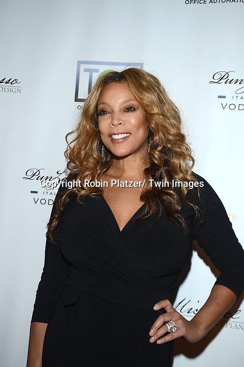 Wendy Williams attends YAI's 56th Anniversary Gala on November 13, 2013 at Guastavino's in New York City.