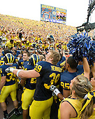 Michigan vs. Notre Dame football at University Michigan Stadium on 9/12.