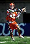 23 August 2008: Philadelphia Barrage Midfielder Justin Smith in action against the Rochester Rattlers during the Semi-Finals of the Major League Lacrosse Championship Weekend at Harvard Stadium in Boston, MA. The Rattlers defeated the Barrage 16-15 in sudden death overtime, advancing to the upcoming Championship Game...Mandatory Photo Credit: Ed Wolfstein Photo
