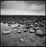 Rocks, Lynmouth, North Devon | Black and White Photography