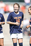 20 October 2013: Virginia's Emily Sonnett. The University of North Carolina Tar Heels hosted the University of Virginia Cavaliers at Fetzer Field in Chapel Hill, NC in a 2013 NCAA Division I Women's Soccer match. Virginia won the game 2-0.