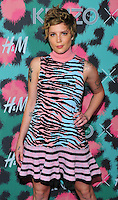 NEW YORK, NY - OCTOBER 19: Halsey, Ashley Nicolette Frangipane attends KENZO x H&M - Arrivals at Pier 36 on October 19, 2016 in New York City. Credit: John Palmer / MediaPunch