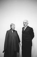 Natalia Ginzburg e Giulio Einaudi