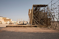 Morocco - Ouarzazate - Atlas Corporation Studio. The temple in the background has been used for several ancient Egypt-based movies, including Asterix & Obelix: Mission Cleopatra.