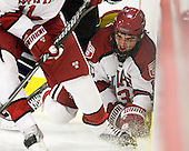 Tommy O'Regan (Harvard - 13) - The Harvard University Crimson defeated the visiting Bentley University Falcons 5-0 on Saturday, October 27, 2012, at Bright Hockey Center in Boston, Massachusetts.