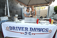 1st Annual Los Angeles Guitar Festival, July 2011.  Driver Dawgs food booth.