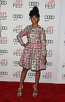 Hollywood, CA - NOVEMBER 15: Skai Jackson, At Audi Celebrates La La Land At AFI Fest 2016 Presented By Audi At The TCL Chinese Theatre, California on November 15, 2016. Credit: Faye Sadou/MediaPunch