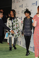 BURBANK, CA - OCTOBER 22: Jaden Smith, Willow Smith attends the Environmental Media Association 26th Annual EMA Awards Presented By Toyota, Lexus And Calvert at Warner Bros. Studios on October 22, 2016 in Burbank, California (Credit: Parisa Afsahi/MediaPunch).