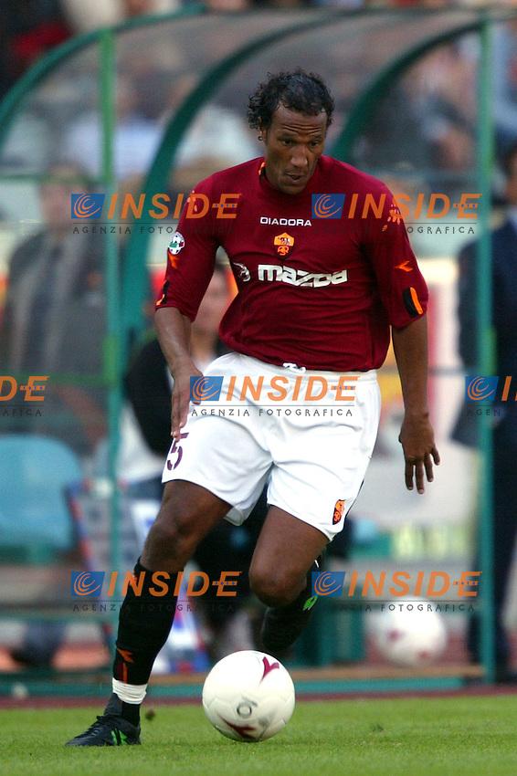 Roma 19/10/2003 <br /> Roma Parma 2-0 <br /> Jonathan Zebina (Roma)<br /> Foto Staccioli / Insidefoto