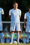 28 August 2015: North Carolina's Alan Winn. The University of North Carolina Tar Heels hosted the Florida International University Panthers at Fetzer Field in Chapel Hill, NC in a 2015 NCAA Division I Men's Soccer match. North Carolina won the game 1-0