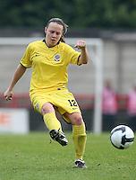 Jana Sedlackova of Sparta Prague - Arsenal Ladies vs Sparta Prague - UEFA Women's Champions League at Boreham Wood FC - 11/11/09 - MANDATORY CREDIT: Gavin Ellis/TGSPHOTO - Self billing applies where appropriate - Tel: 0845 094 6026