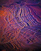 Aerial view of Hurricane Cliffs   Utah/Arizona border