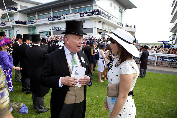Julian Fellowes and Princess Eugenie