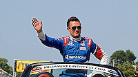Mikhail Aleshin, Milwaukee Indy Fest 250, Milwaukee Mile Speedway, Milwaukee, WI, August 2014.  (Photo by Brian Cleary/www.bcpix.com)
