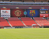 Manchester United FC vs FC Barcelona, July 30, 2011