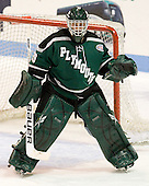 Tyler Ingerson (PSU - 29) - The visiting Plymouth State University Panthers defeated the Wentworth Institute of Technology Leopards 2-1 on Monday, November 19, 2012, at Matthews Arena in Boston, Massachusetts.
