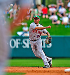 17 March 2009: New York Mets' infielder Ruben Tejada in action during a Spring Training game against the Atlanta Braves at Disney's Wide World of Sports in Orlando, Florida. The Braves defeated the Mets 5-1 in the Saint Patrick's Day Grapefruit League matchup. Mandatory Photo Credit: Ed Wolfstein Photo