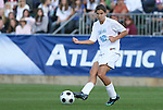 09 November 2008: North Carolina's Tobin Heath. The University of North Carolina Tarheels defeated the Virginia Tech University Hokies 3-0 at WakeMed Stadium at WakeMed Soccer Park in Cary, NC in the women's ACC tournament championship game.