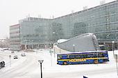 Winter on the UM Medical Campus (BSRB). 2/29/08