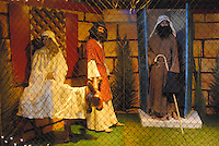 The Santa Monica Nativity Scene:Scene  6 No Room at the Inn - Santa Monica Church of the Nazarene, on Tuesday, December 12, 2010.