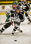 13 November 2015: Providence College Friar Forward Madison Sansone, a Sophomore from Lockport, NY, in action against the University of Vermont Catamounts at Gutterson Fieldhouse in Burlington, Vermont. The Lady Friars defeated the Lady Cats 4-1 in Hockey East play. Mandatory Credit: Ed Wolfstein Photo *** RAW (NEF) Image File Available ***
