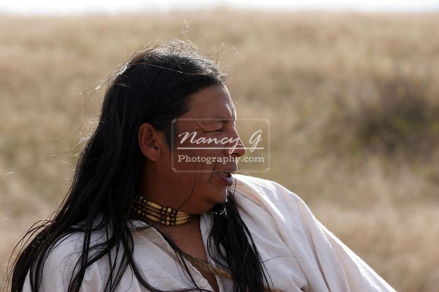 A Native American Indian Male Portrait