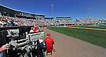 12 March 2011: Baseball fans enjoy a MASN televised Spring Training game between the Washington Nationals and the New York Yankees at Space Coast Stadium in Viera, Florida. The Nationals edged out the Yankees 6-5 in Grapefruit League action. Mandatory Credit: Ed Wolfstein Photo