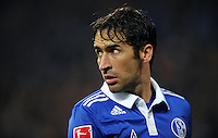 FUSSBALL   1. BUNDESLIGA   SAISON 2011/2012   18. SPIELTAG FC Schalke 04 - VfB Stuttgart            21.01.2012 Raul (FC Schalke 04)