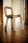 "Big Game: ""Bold"" Chair Prototype, 2007. Swiss design furniture's sale at the Artcurial Gallery. Paris, France. 4/24/2009. Photo: Antoine Doyen"