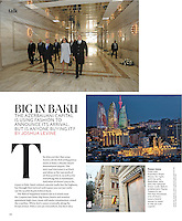 &quot;Big in Baku,&quot; T: The New York Times Style Magazine, August 19, 2012, p. 148.<br /> <br /> Photograph at bottom by Amanda Rivkin/VII Mentor Program: &quot;the Dior boutique, one of many luxury brand stores to open in the oil rich capital.&quot;