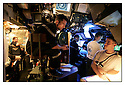 SNA Saphir,<br /> Sous-marin nucl&eacute;aire d'attaque.<br /> Mer M&eacute;diterran&eacute;e