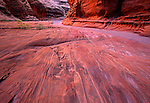 Water carved sandstone in Wolverine Gulch, Escalante Grand Staircase National Monument, Utah