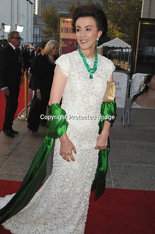 Mercedes Bass..arriving at The Metropolitan Opera 2007-08 Opening Night on September 24, 2007 at The Metropolitan Opera House..in Lincoln Center in New York City. ....photo by Robin Platzer, Twin Images ....212-935-0770