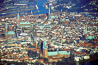 Deutschland, Schleswig- Holstein, Lübeck, Stadtansicht, Städtebau, Kirchen