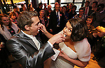 Foto: VidiPhoto..ELBURG - Huwelijk echtpaar Cornelissen uit Veenendaal.