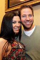 28 February 2009:  KROQ radio DJ and Love Line host with his girlfriend at the 7th Annual WPT World Poker Tour Invitational at the Commerce Casino in Los Angeles, CA. Players compete for poker glory and a  piece of the $200,000 prize pool. Celebrity and Pro card players in action.