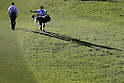 Toru Taniguchi, MAY 12, 2012 - Golf : Toru Taniguchi go to green on the 16th hole during the PGA Championship Nissin Cupnoodles Cup 2012 3rd round at Karasuyamajo Country Club, Tochigi, Japan. (Photo by Yusuke Nakanishi/AFLO SPORT) [1090]
